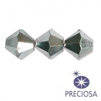 Bicono Preciosa  Crystal Labrador AB 4mm