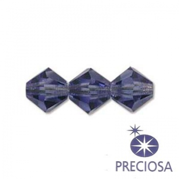 Bicono Preciosa Tanzanite 6mm