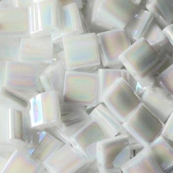 Perline Tila MIyuki White Opaque Pearl 5mm