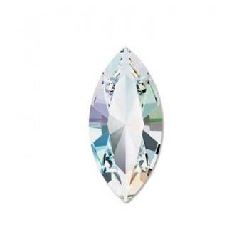 Navetta 4228 Swarovski Crystal AB 10x5mm