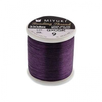 Filo Nylon Miyuki Purple-Misura 0,25mm-Bobina da 50mt