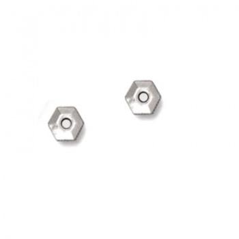 Distanziatore Esagonale Argentato Anticato 5mm