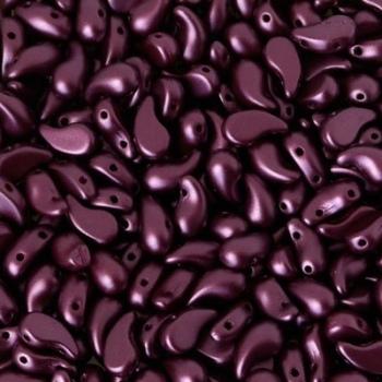 Perline Zoliduo Pearl Lila Lato Destro 8x5mm