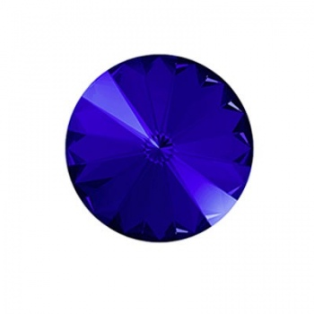 Rivoli Swarovski (1122) Majestic Blue Con Foiled 18mm