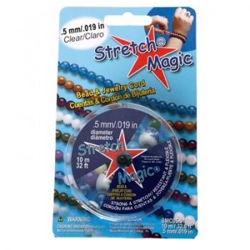 Filo Elastico Stretch Magic Trasparente 0,5mm
