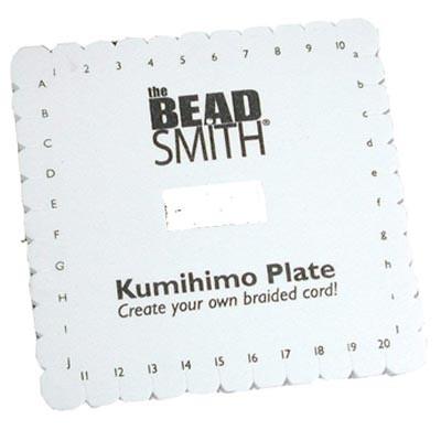 Kumihimo Disco Quadrato Diametro 15cm