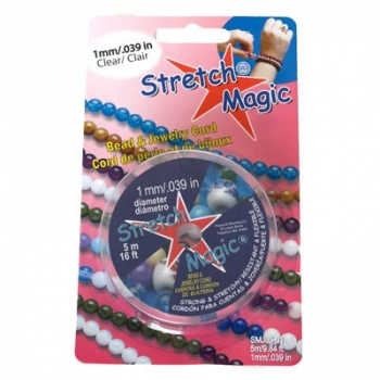 Filo Elastico Stretch Magic Trasparente 1mm