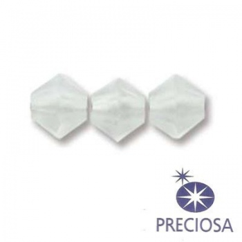 Bicono Preciosa Crystal Matte 6mm
