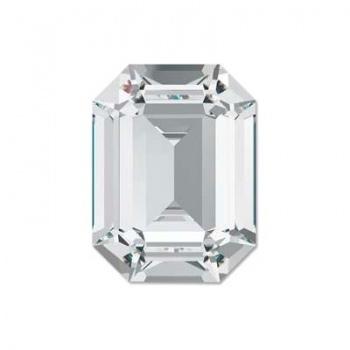 Cabochon Ottagono Swarovski (4610) 18x13mm Crystal