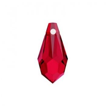 Goccia (6000) Swarovski Scarlet 11x5,5mm