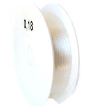 Monofilo In Nylon Misura 0,18mm Trasparente