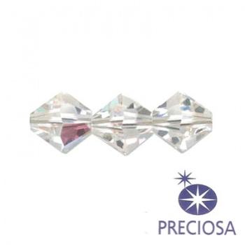 Bicono Preciosa Crystal AB 6mm