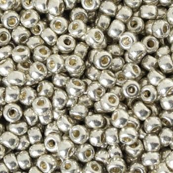 Perline Rocailles Miyuki 6/0 Galvanized Silver