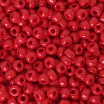 Perline Rocailles MIyuki 6/0 Opaque Red