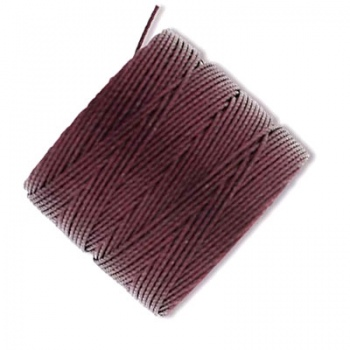 Super-Lon Bead Cord Burgundy