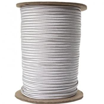 Piattine Soutache Rayon Silver Grey 3mm