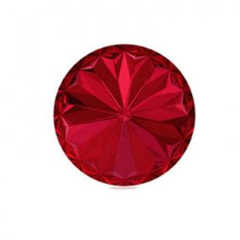 Rivoli Swarovski (1122) Scarlet Con Foiled 18mm