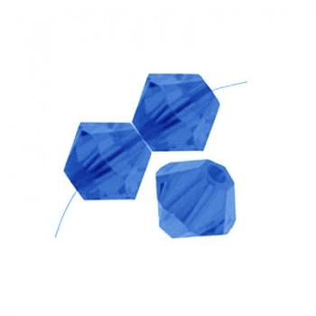 Bicono Preciosa Capri Blue 3mm