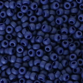 Perline Rocailles Miyuki 8/0 Matte Cobalt