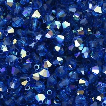 Bicono Preciosa Capri Blue AB 4mm
