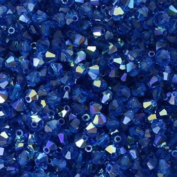 Bicono Preciosa Capri Blue AB 3mm