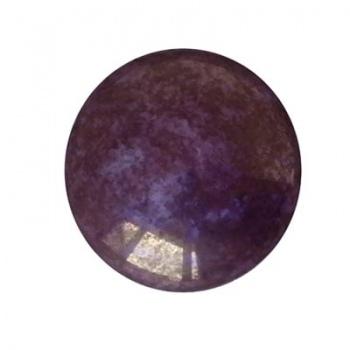 Cabochon Par Puca® Opaque Mix Violet/Gold Ceramic Look 25mm