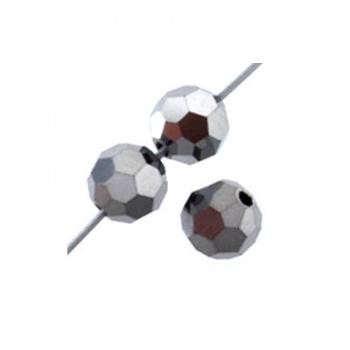 Tondo Sfaccettato Preciosa Crystal Labrador 4mm