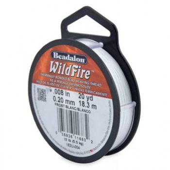 Filo Wildfire White Misura 0,20mm 18,3 mt