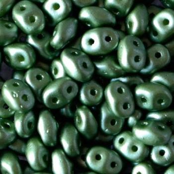 Perline Superduo 2.5x5mm Pastel Olivine