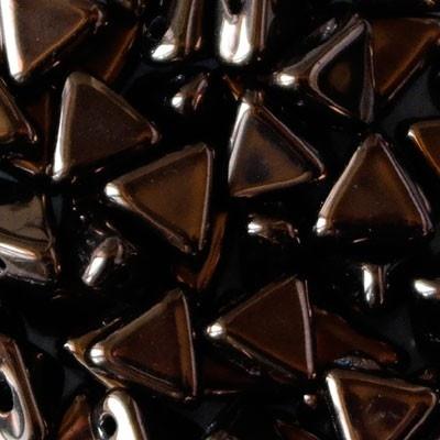 Perline Kheops® par Puca® 6mm Dark Bronze