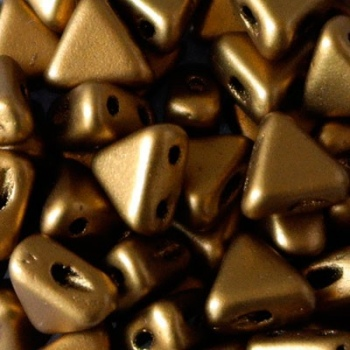 Perline Kheops® par Puca® 6mm Bronze Gold Matte
