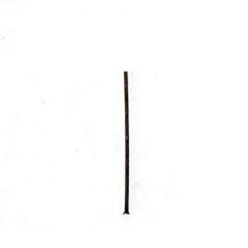 Chiodino Testa Piatta Piccola Ottone Anticato 25mm Diametro 0,70mm