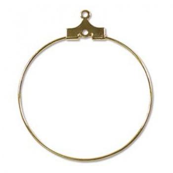 Orecchino Cerchio Dorato 30mm