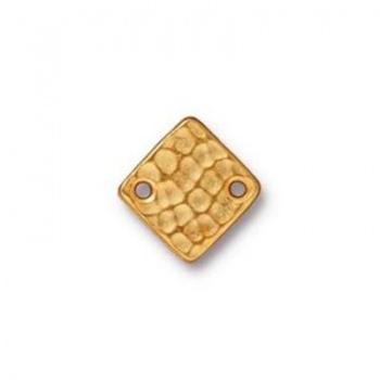 Link Dorato Quadrato 12mm