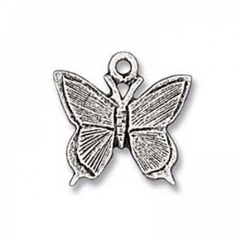 Charm Farfalla Argenta Anticata 10mm