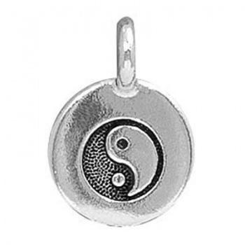 Charm Yin Yang Argentato Anticato 16mm
