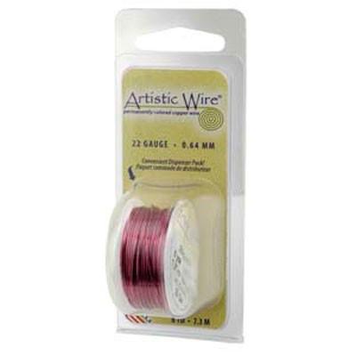 Filo Artistic Wire Borgogna Diametro 0,40mm