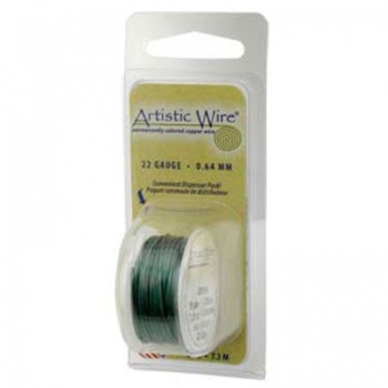 Filo Artistic Wire Verde Diametro 0,40mm