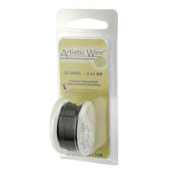 Filo Artistic Wire Nero Diametro 0,81mm