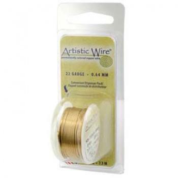 Filo Artistic Wire Dorato Diametro 0,81