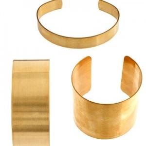 Vendita bracciali in ottone grezzo su Luvy Bijoux