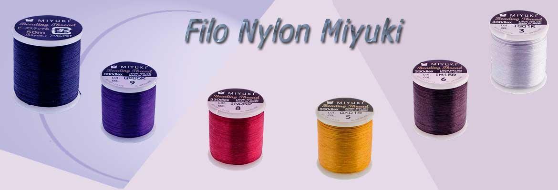 Filo Nylon Miyuki Luvybijoux